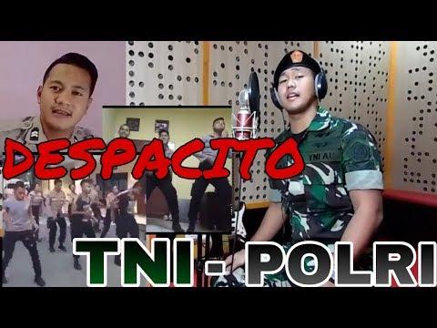 VIRAL!!! TNI POLRI Cover lagu DESPACITO   Bhinneka Tunggal Ika   Oh Polisi   Senam Dek Lastri