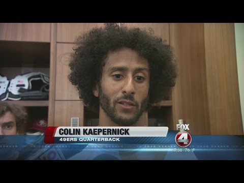 Kaepernick responds to Trump's criticisms over kneeling