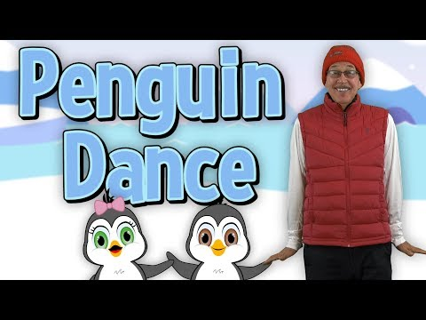Penguin Dance | Brain Breaks | Jack Hartmann