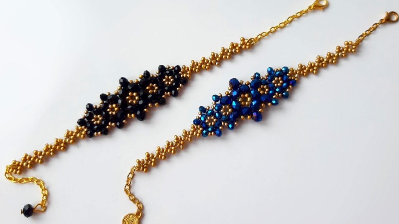 Kolay ve Şık Bileklik Yapımı || Easy Bracelet Making #Tutorial