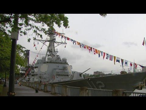 Portland Welcomes Ships For Rose Festival Fleet Week