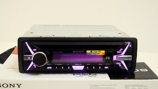 Обзор Sony cdx-G3100UE