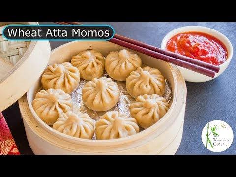 Secret Formula to make Healthy & Yummy Atta Momos | Vegetable Wheat Atta Momos ~ The Terrace Kitchen