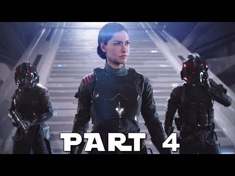 STAR WARS BATTLEFRONT 2 Walkthrough Gameplay Part 4 - Gleb - Campaign Mission 4 (BF2 Battlefront II)