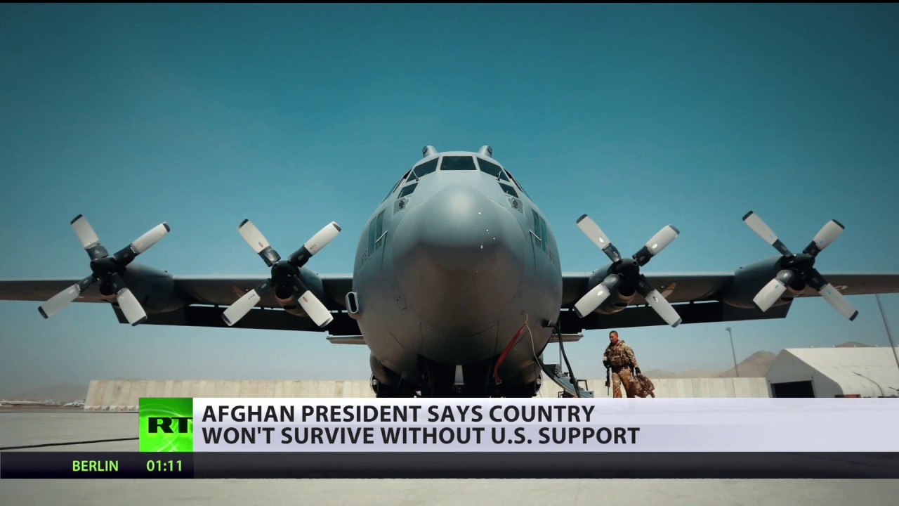 Afghan president says country won't survive without US support