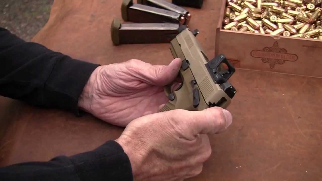 FN FNX-45 Tactical 45 acp 15rd FDE 66997