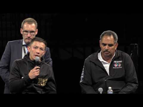 GGG V Canelo Post fight press conference CONTROVERSIAL angry exchanges