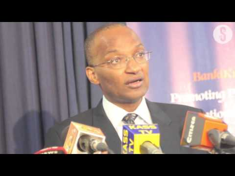 Central Bank Governor Patrick Njoroge media briefing on Chas