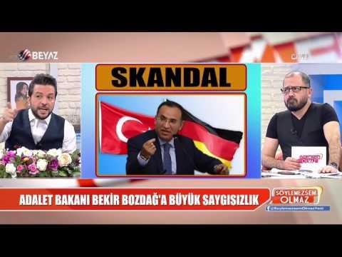 Adalet Bakanı Bozdağ'a büyük saygısızlık