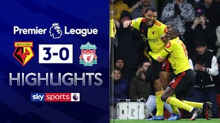 Liverpool's unbeaten run ended by Watford! | Watford 3-0 Liverpool | EPL Highlights