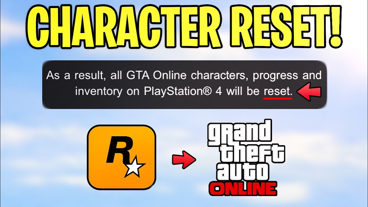 Thousands of GTA 5 Online Players Are Getting BANNED & CHARACTER RESET By Rockstar
