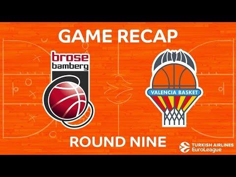 Highlights: Brose Bamberg - Valencia Basket
