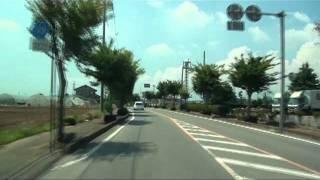 【車載動画】栃木県道めぐりシリーズ 停車場線編(下都賀地区)