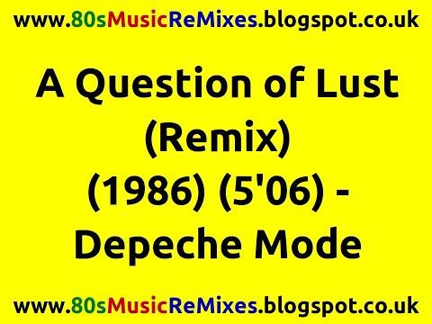 a question of lust remix depeche mode 80s dance. Black Bedroom Furniture Sets. Home Design Ideas
