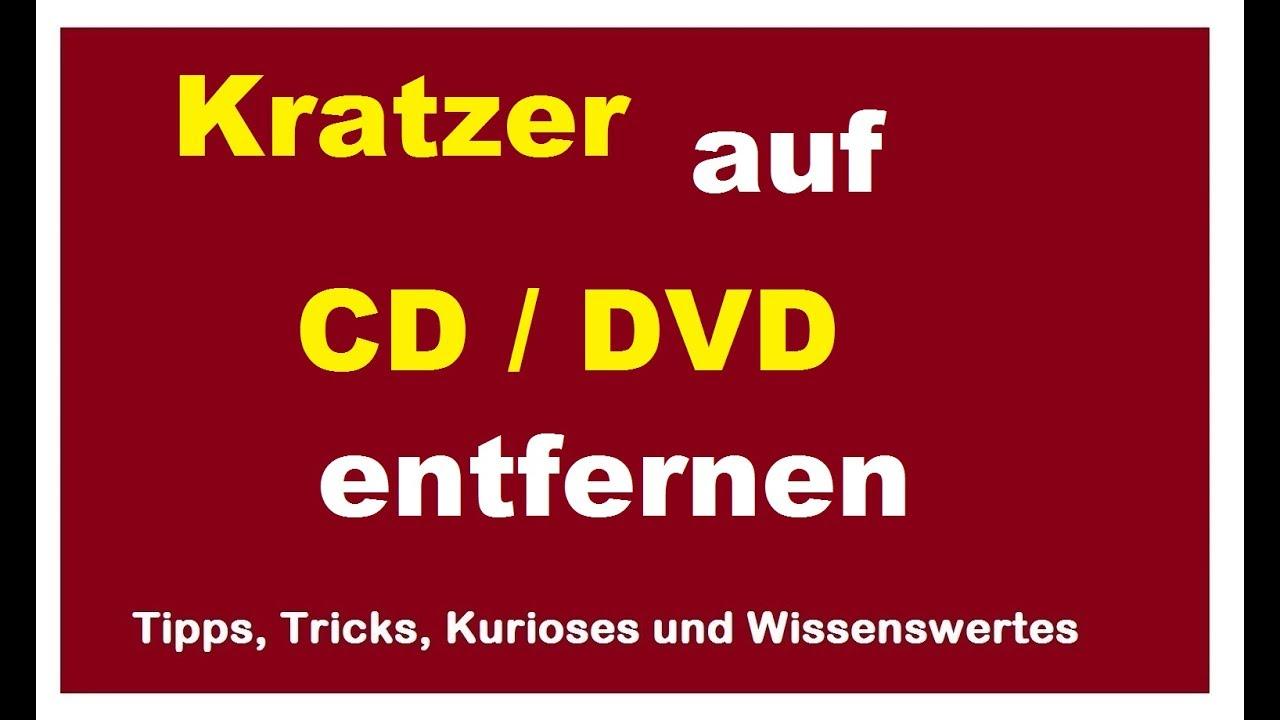 kratzer auf cd entfernen raus polieren anleitung zerkratzte dvd reparieren retten youtube. Black Bedroom Furniture Sets. Home Design Ideas