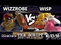 The Script -  Wizzrobe (Captain Falcon) Vs.  Wisp (Peach) - Smash Melee Round Robin Pools