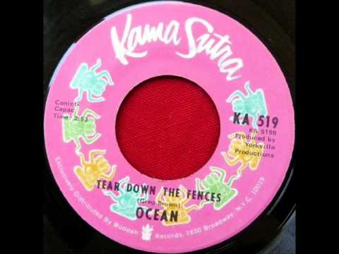 Ocean - Tear Down The Fences, Mono 1971 Kama Sutra 45 record.