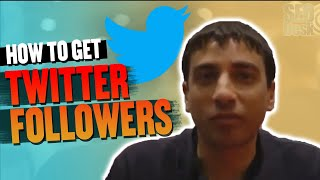 How to get twitter followers - great tip from Digital Marketing Desk