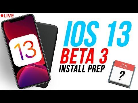 iOS 13 Beta 3 Release Date & Install Prep! Jailbreak iOS 12.3.1 Q&A