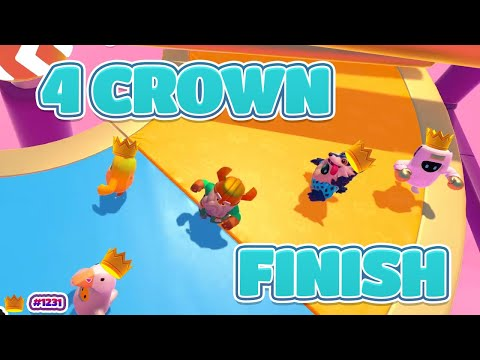 4 CROWNS IN ONE GAME!! | Fall Guys: Ultimate Knockout |