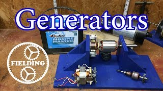 037. How Motors Work for Beginners (Ep 2): The Generator and Universal Motor