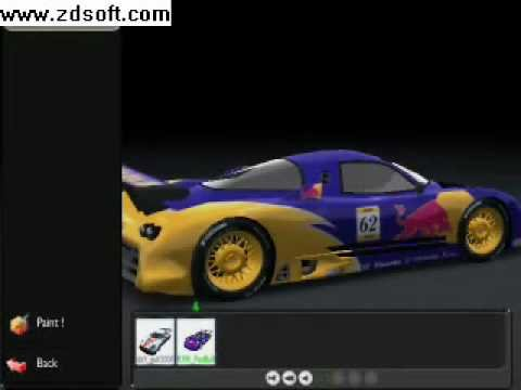Trackmania Nations Forever Nissan R390 Gt1 Red Bull Mod Youtube