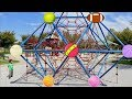 Learn Colors of Different Balls at the Park - Toddlers Playing and Learning Colors at the Playground
