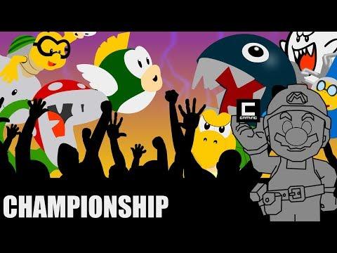 "9 Amazing Super Mario Maker Designs, or ""The Mushroom Kingdom Championship 2018 - Semi Final 2"""