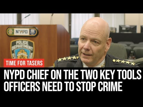 New York Police Chief On The Two Key Tools UK Officers Need To Stop Violent Crime