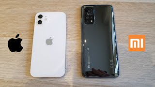 IPHONE 12 VS XIAOMI MI 10T PRO - СРАВНЕНИЕ ЛУЧШИХ ФЛАГМАНОВ!