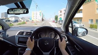 【Test Drive】2017/2018 New SUZUKI SX4 S-CROSS 4WD - POV City Drive