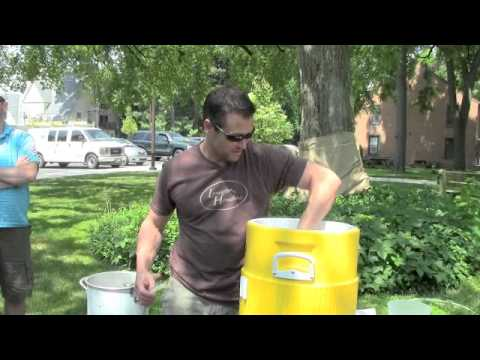 The Sparging Process Part 1 - Clearing the Wort