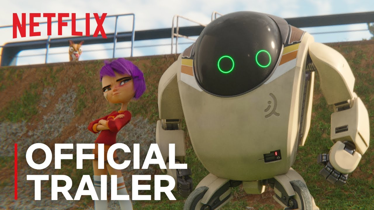 A Girl and Her Robot: 'Next Gen' Arrives on Netflix | Animation