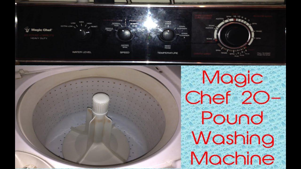 Magic Chef 20 Pound LB Washing Machine (Cuz... Why Not.
