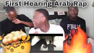Americans Reacts to Marwan Pablo - Free (Arab Rap) (Reaction)