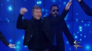 """Back Street Boys sing """"Don't Go Breaking My Heart"""" Live Kelly & Ryan from CD DNA 2019 HD 1080p"""