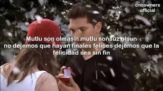 Mutlu Sonsuz Çağatay Ulusoy Lyrics Y Letra En Español