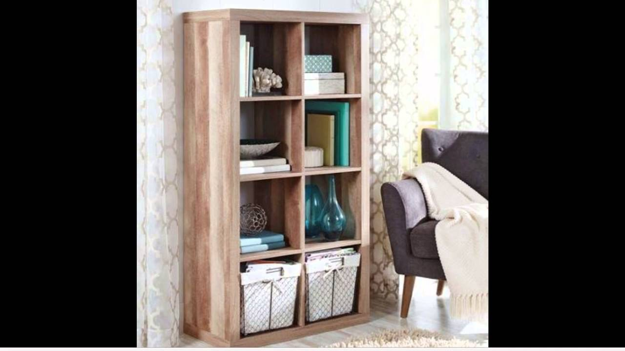 Modern Better Homes and Gardens 8 Cube Organizer Weathered YouTube