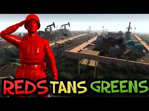 RED Special forces ! Army Men of War - Capture the Colonel !