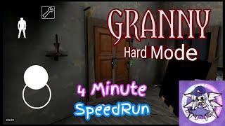 GRANNY 1.2 HardMode - 4 Minute SpeedRun