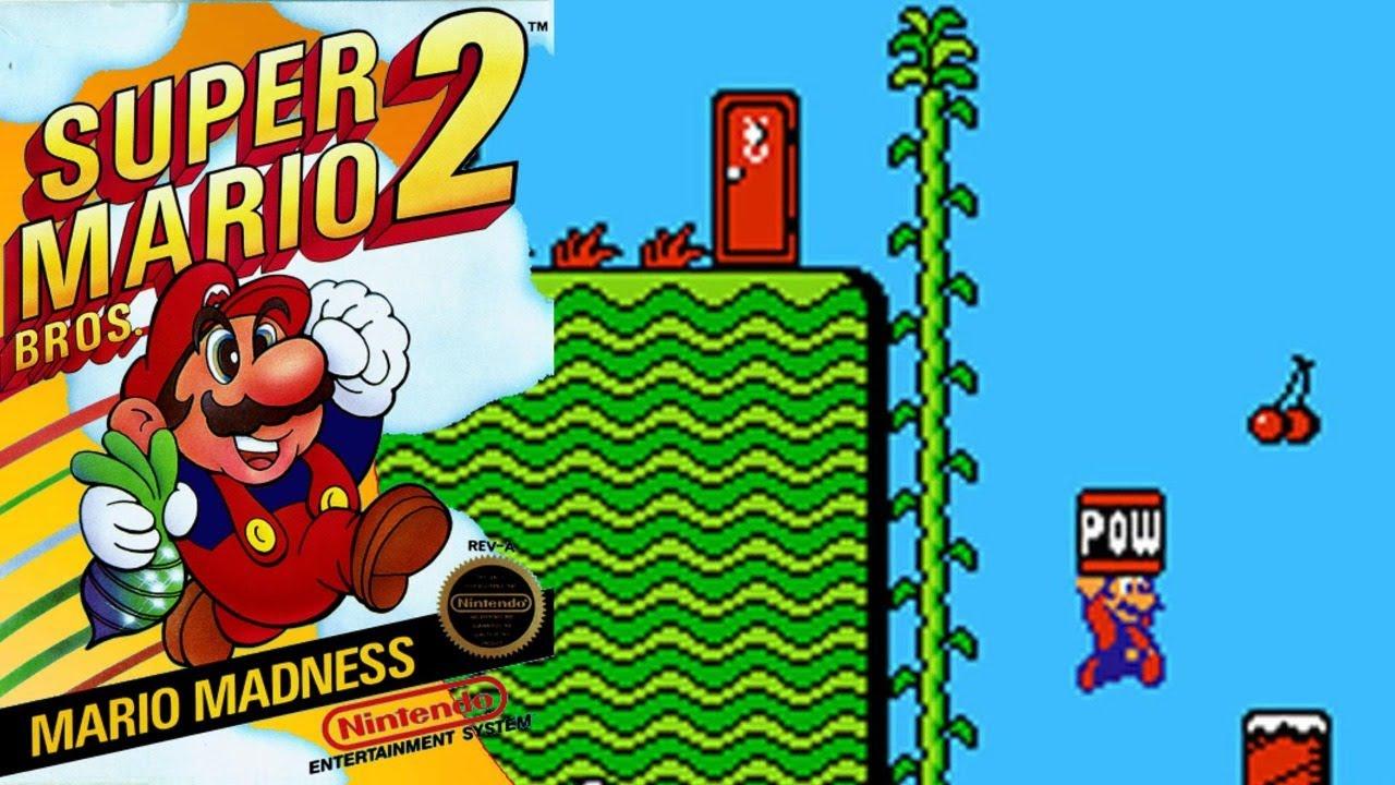 (Final) Super Mario bros 2 con una sola mano
