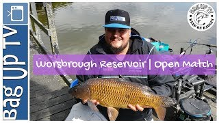 Worsbrough Reservoir | Open Match | BagUpTV | Live Match Footage | Match Fishing