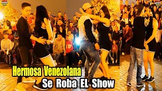 Hermosa Venezolana se Roba el Show con Care Chanchito Jr. - Comicos Ambulantes [ Completo ]