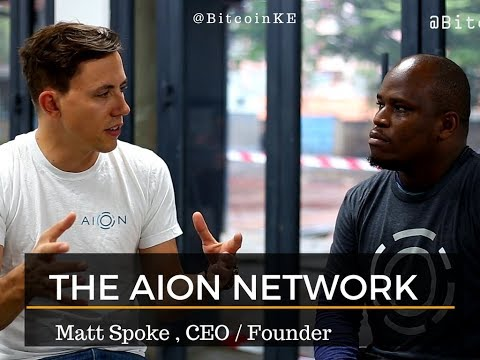 Interview with Matt Spoke - AION NETWORK - Founder, CEO