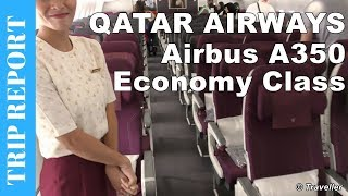 TRIP REPORT - Qatar Airways Economy Class flight to Singapore - Airbus A350 Flight