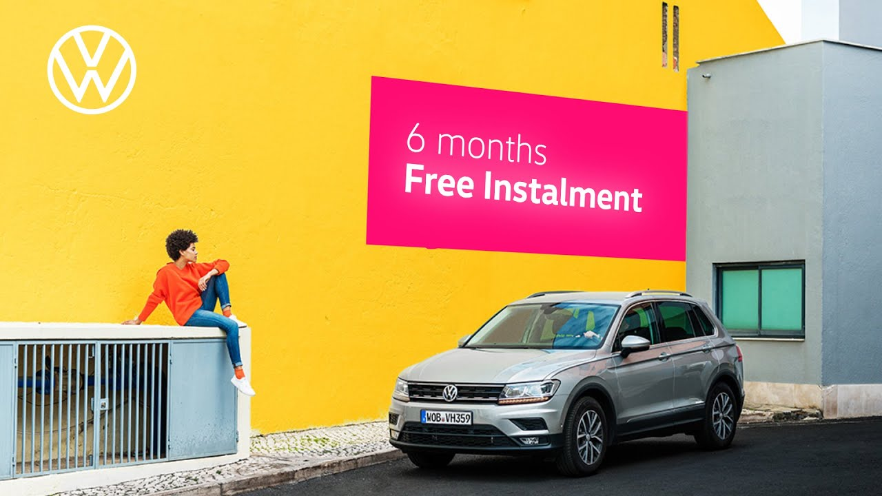 6 Months FREE Instalment | The Tiguan | July 2020