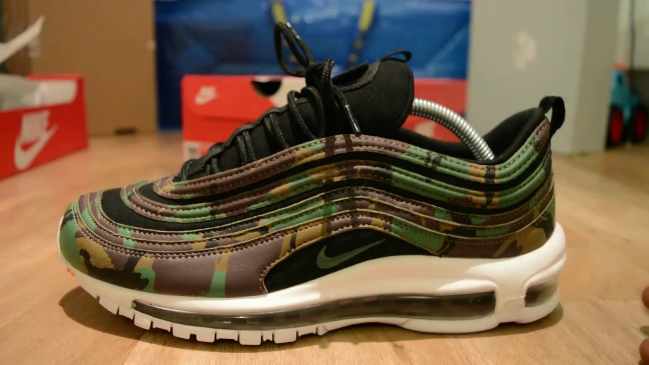 huge discount 636aa 790ba Nike Air Max 97 (Country Camo) United Kingdom - YouTube