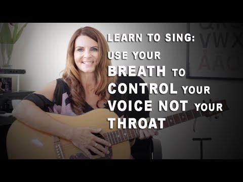 Learn Good Singing Breath Control - sing969.com