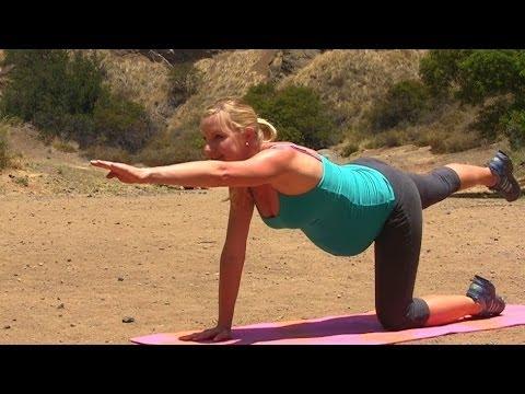 U0106wiczenia Fitness W 3 Trymestrze Ciu0105u017cy - YouTube