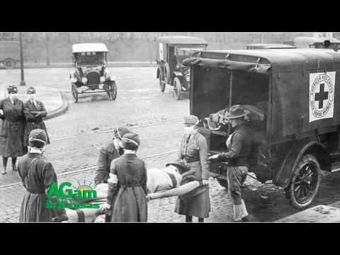 Around Kansas - Kansas is Considered to be Ground Zero for the 1918 Flu Epidemic - November 2, 2016
